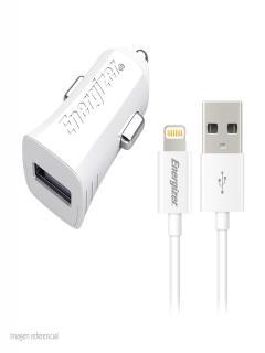 Cargador+de+Autom%C3%B3vil+Energizer+HighTech%2C+5VDC+%2F+2.4A%2C+Blanco%2C+para+iPhone+%2F+iPod+%2F+iPad.