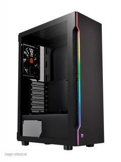 Case+Thermaltake+H200+TG+RGB%2C+Mid+Tower%2C+Negro%2C+USB+3.0%2C+Audio.