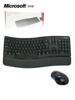 Kit+Teclado+y+Mouse+inal%C3%A1mbrico+Microsoft+Sculpt+Comfort+Desktop%2C+Receptor+USB%2C+Negro.