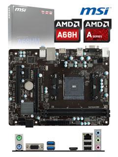 Motherboard+MSI+A68HM-E33+V2%2C+FM2%2B%2C+A68H%2C+DDR3%2C+SATA+6.0%2C+USB+3.0%2C+VD%2FSN%2FNW.