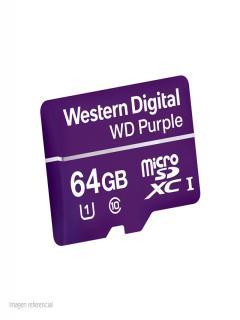 Microsd+64gb+Western+Purpura+C10