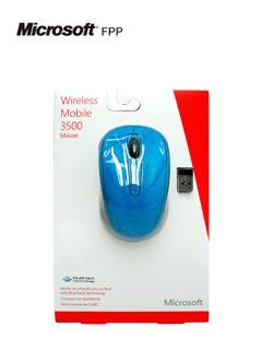 Mouse+%C3%B3ptico+inal%C3%A1mbrico+Microsoft+Mobile+3500%2C+1000+dpi%2C+celeste%2C+BlueTrack.