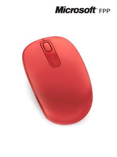 Mouse+%C3%B3ptico+inal%C3%A1mbrico+Microsoft+Mobile+1850%2C+1000dpi%2C+Receptor+USB%2C+2.4GHz%2C+Rojo.