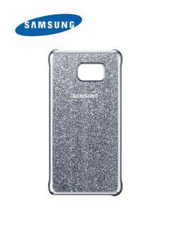 Protector+de+celular+Samsung+Glitter+Cover%2C+para+Galaxy+Note+5%2C+Silver.