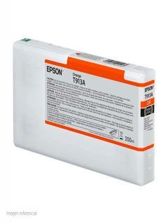 Cartucho+de+Tinta+Epson+T913A00%2C+Naranja%2C+para+Impresora+Epson+SureColor+P5000+Standard.