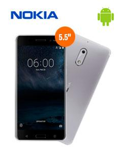 Nokia+N6+Doble+Chip+Lte+Plateado