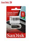 Memoria+Flash+Usb+Sandisk+Cruzer+Force%2C+8gb%2C+Usb+2.0%2C+Presentaci%C3%B3n+En+Colgador.