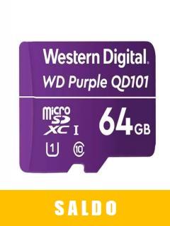 Memoria+Flash+Wd+Purple+64gb+Sc+Qd101+Microsd%2C+Ideal+Para+Camaras+De+Videovigilancia.+%28saldo+Sin+Empaque%29
